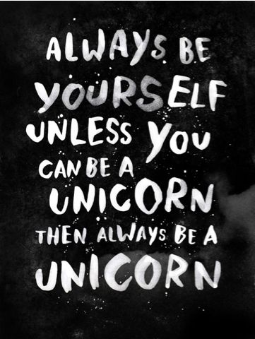 My 3.5 year old believes this. I'm a picky eater, and not sure about the unicorn's diet or the sleeping outdoor thing.