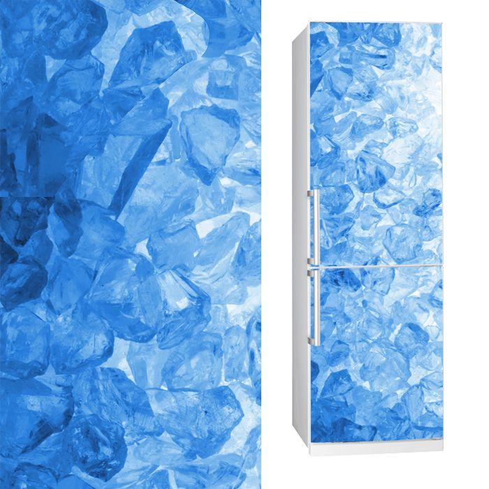 Fabric Fridgy Sticker ICE by Sticky!!!