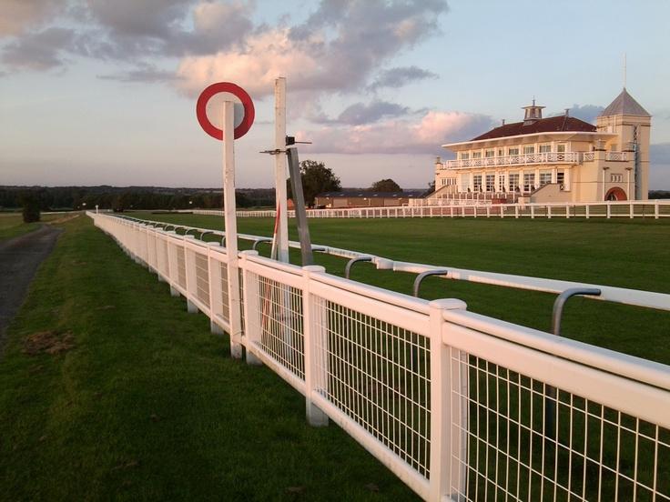 Towcester racecourse.