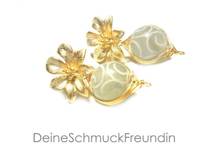 Ohrringe Jade  von DeineSchmuckFreundin - Schmuck und Accessoires auf DaWanda.com