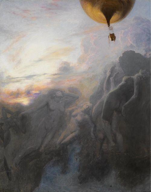 Voyage a l'Infini (1899), Émile Friant