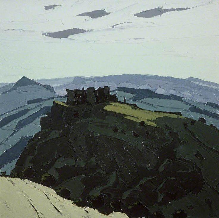 Carreg Cennen Castle by Kyffin Williams