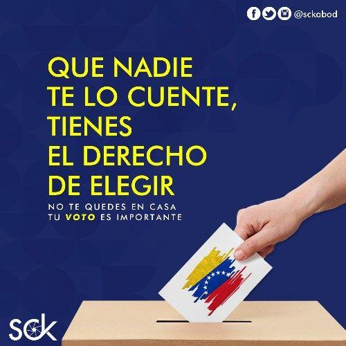 Venezuela también espera de ti ¡El compromiso es hoy!