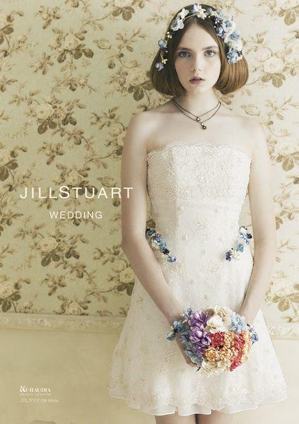 ヴィンテージ&ロマンティック♡ミニドレスに似合うボブ・ミディアム・ショートの髪型の参考♡