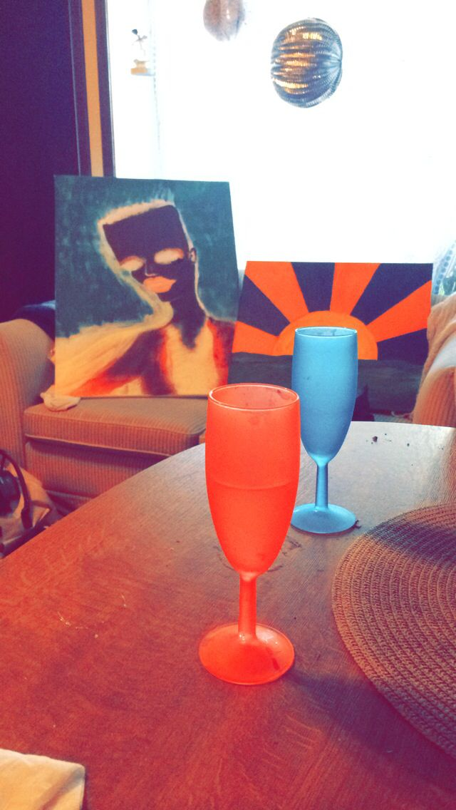 Cava makes art