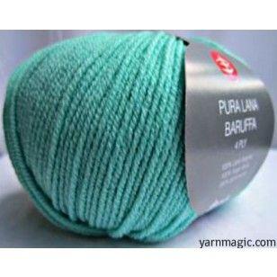 Verde Acqua Merino Wool 4 Ply Yarn - 4 Ply - Merino Extra Fine