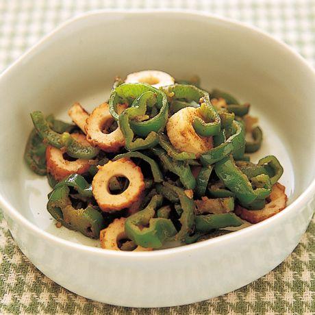 ピーマンとちくわのゆずマヨ炒め | 小林まさみさんのおつまみの料理レシピ | プロの簡単料理レシピはレタスクラブネット