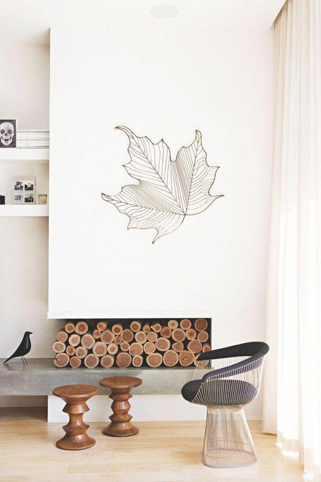 #eames walnut stools Inside a Pristine Melbourne Family Home | MyDomaine