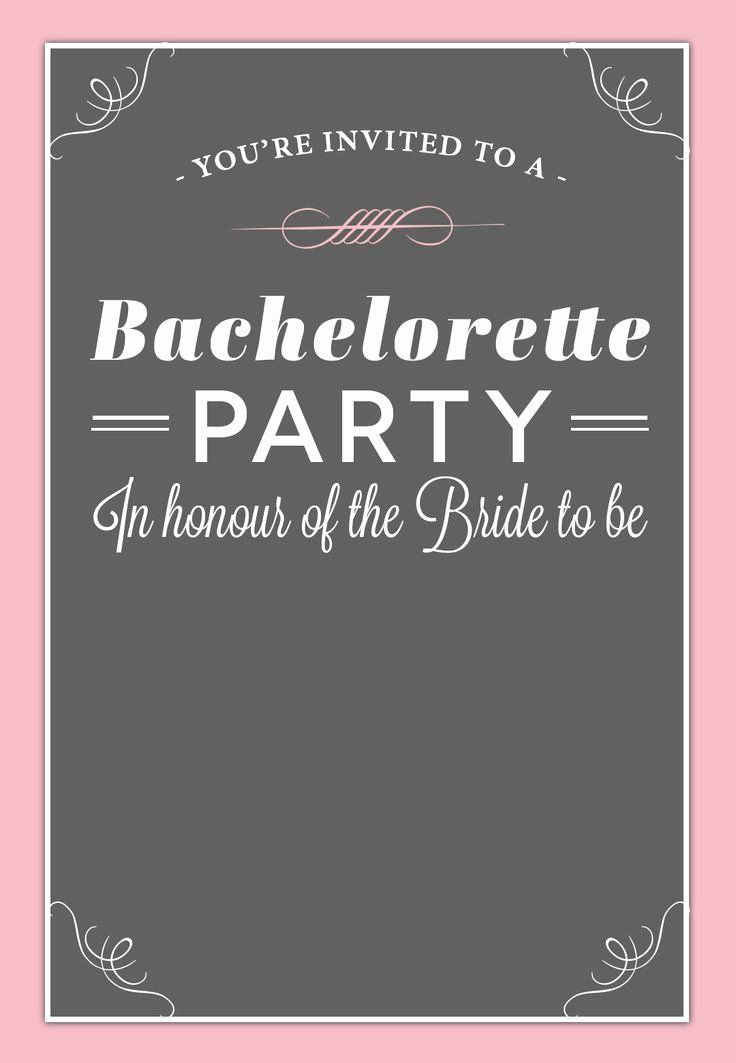 Best Of Party Invitation Template Printable Free Bachelorette Party Invitations Party Invite Template Bachelorette Invitations