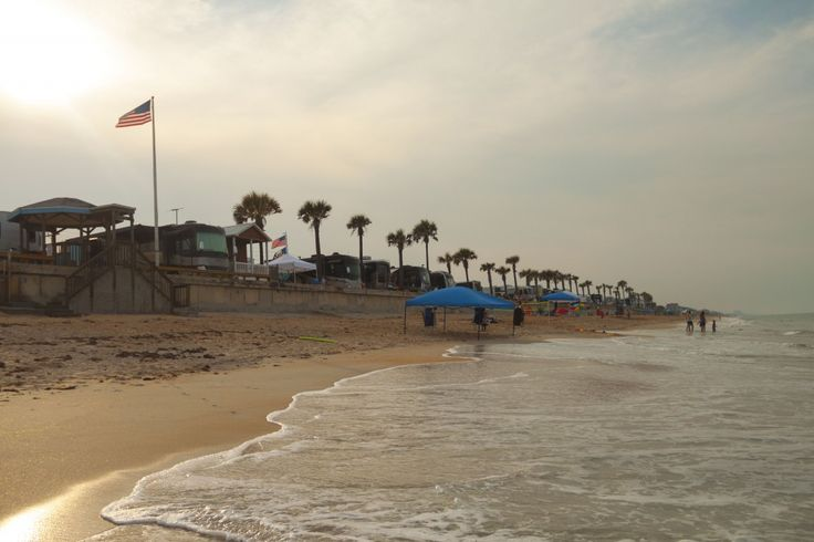 Fl Beverly Beach Camptown We Are One Of The Few Rv