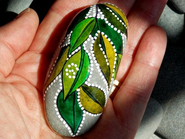 Enchanted Elf's Slipper / Painted Rock / Sandi Pike Foundas www.LoveFromCapeCod.etsy.com