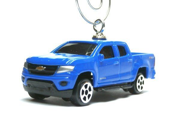 Truck With Tree Christmas Ornament or Keychain