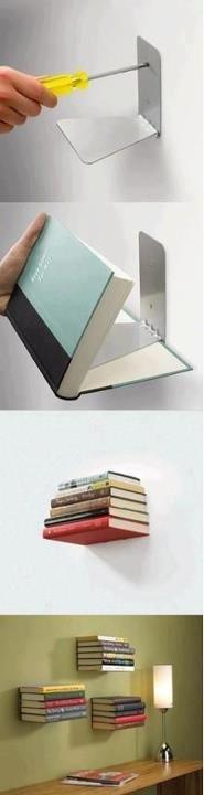 Espacios libres para tus libros