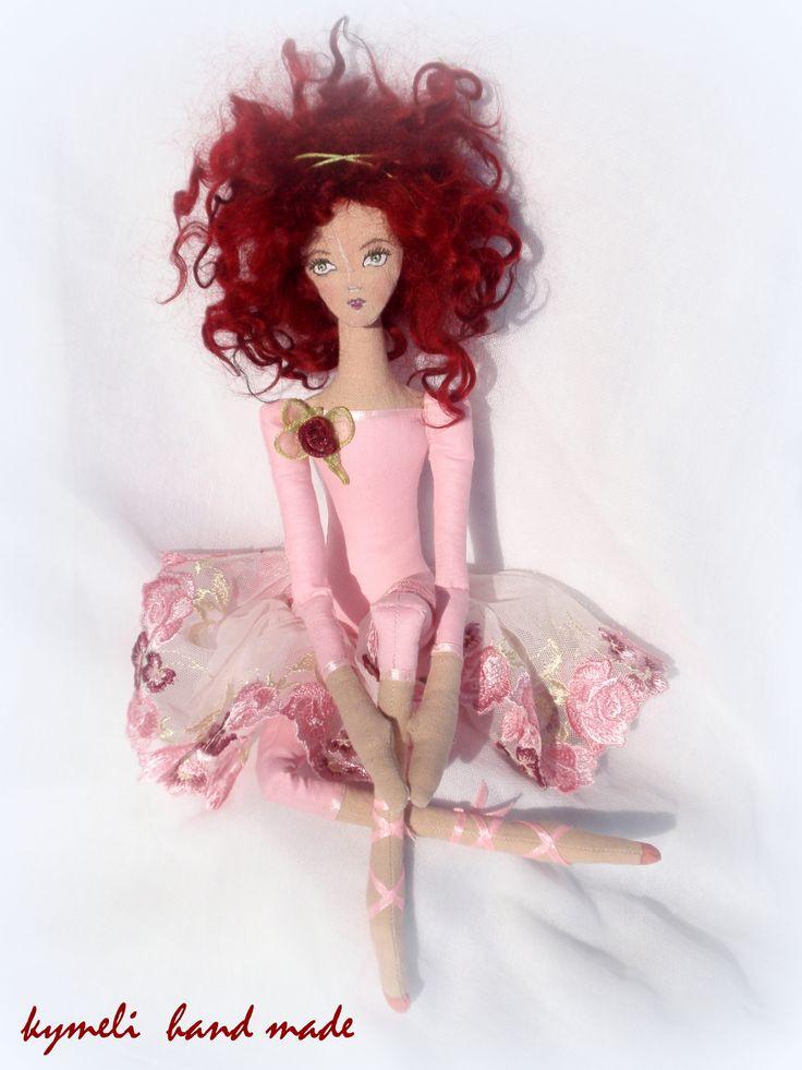 'Katerina'     OOAK Art Doll by kymeli