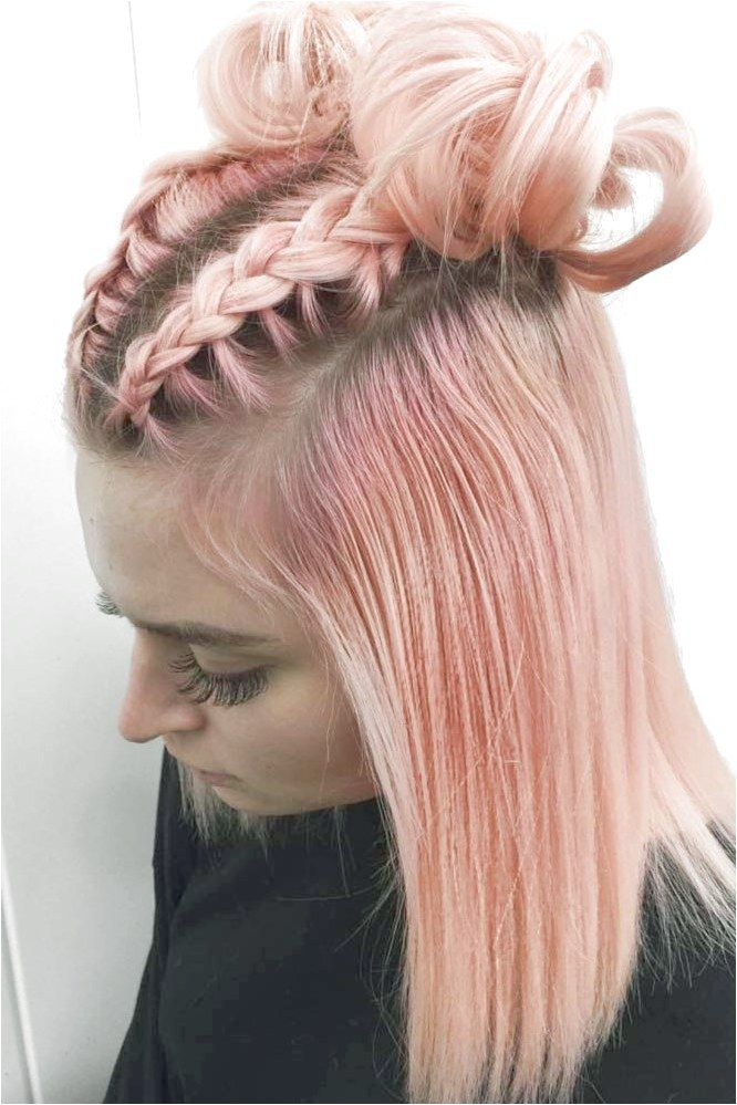 Charming Braided Hairstyles For Short Hair See More Lovehairstyles Co Braidsformediumlengthha Braids For Short Hair Braided Hairstyles Headband Hairstyles