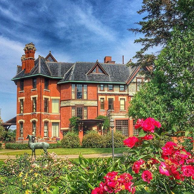 Brucemore in Cedar Rapids, Iowa. Built in 1884, the mansion was a private home until 1981. Tours explore the home and the lives of the three families who lived there.