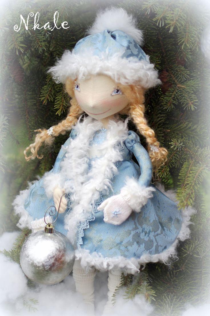 NKALE :-) В каждой игрушке сердце: Снегурка...