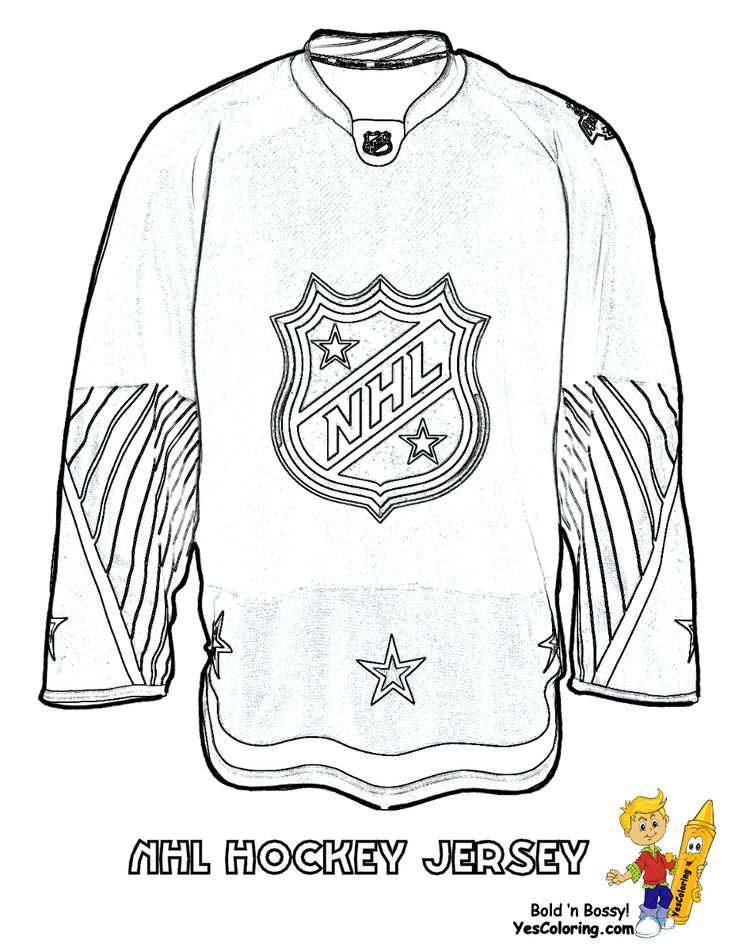17 best hockey images on Pinterest Coloring pages Hockey and