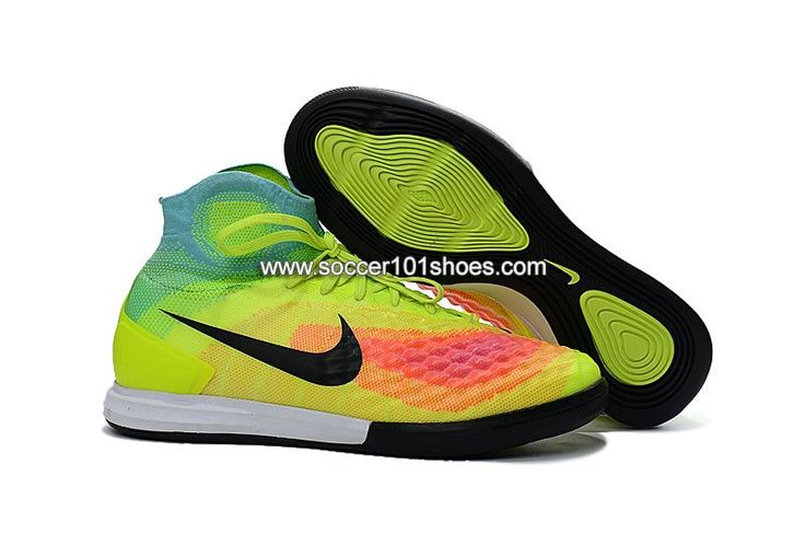 online store d7b03 44248 ... cheap nike mens magistax proximo ii ic indoor football soccer shoes  green colorful 73.00 3c0bf 4585e