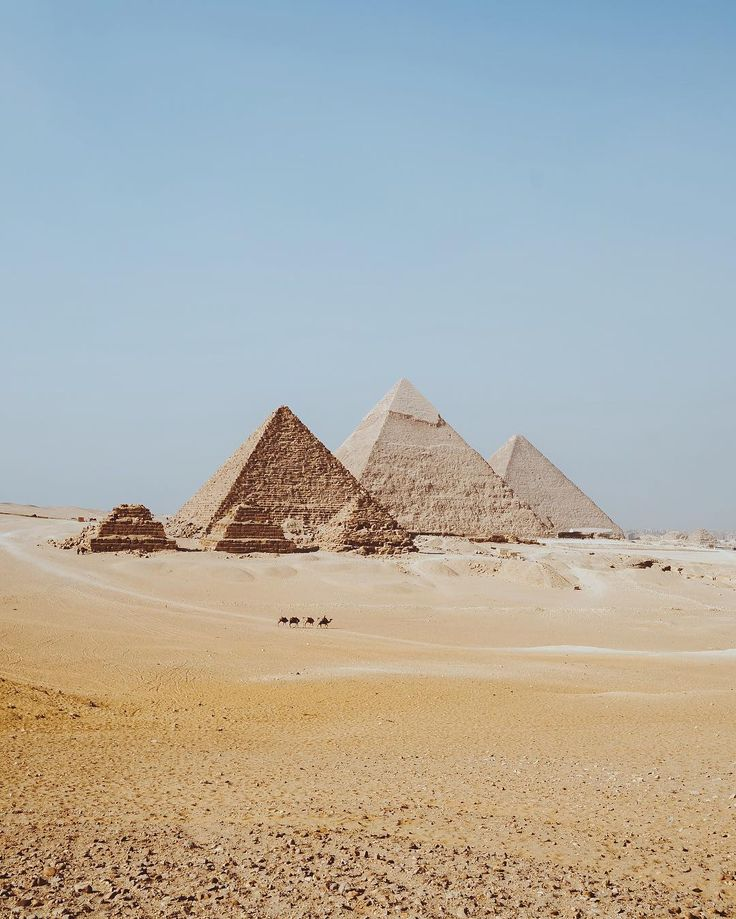 Could see the pyramids from our hotel room