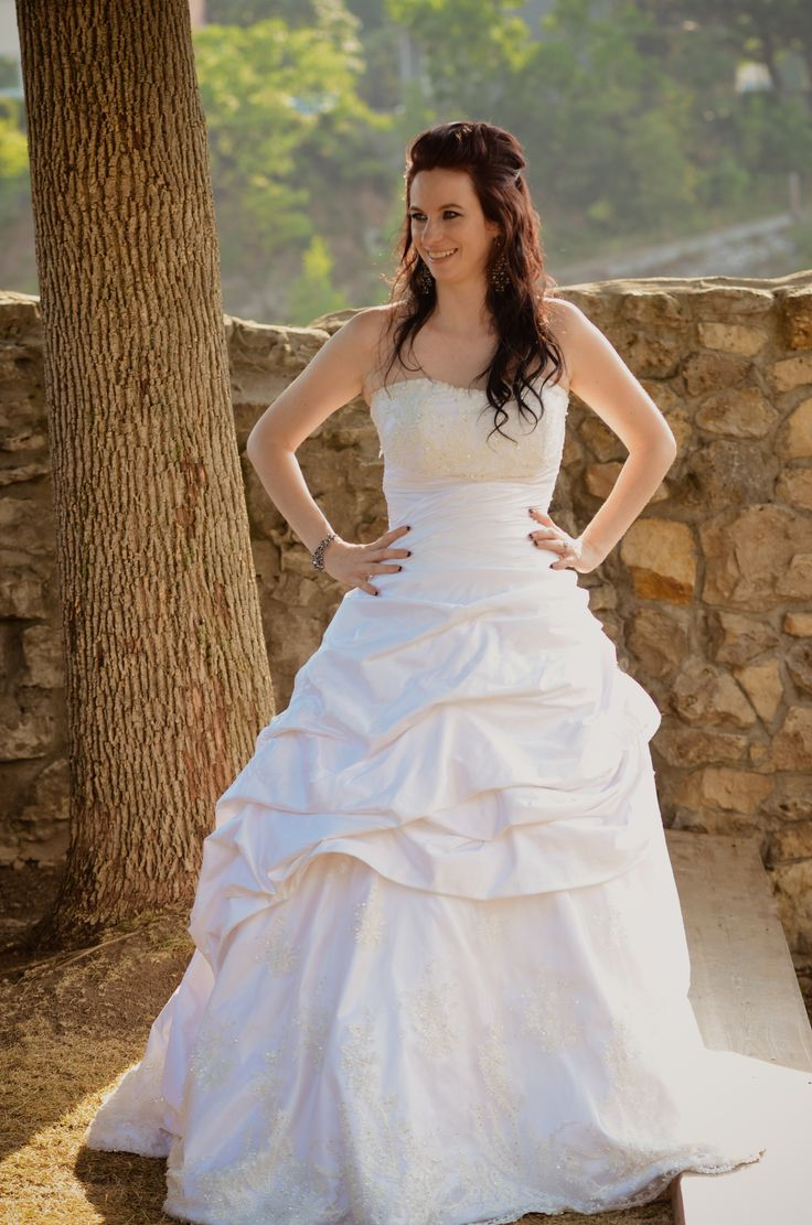 Pin by jennie ross bridal on peplums pickups and pleating for Ross wedding dresses