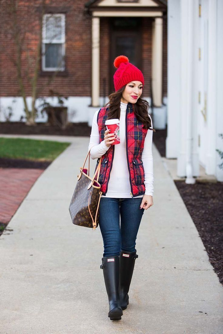 plaid excursion vest #vestswomensoutfits