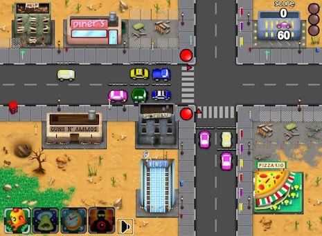 Juegos de Coches en los semaforos - juegos de coches