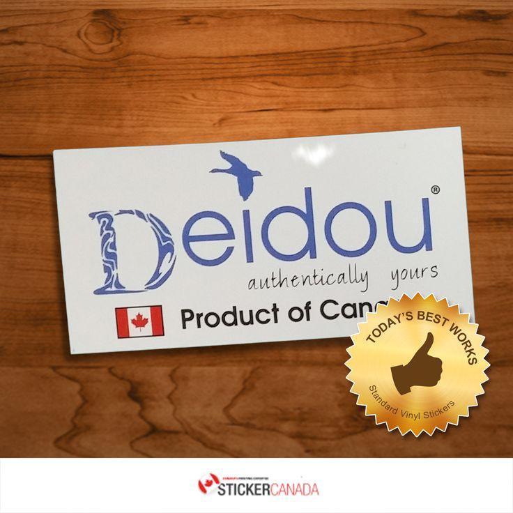 Deidou standard vinyl stickers 100x50mm rectangle deidou standardvinylstickers vinylstickers customvinylstickers
