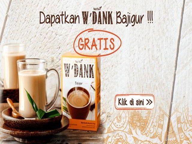sample gratis produk w'dank bajigur