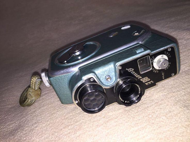 Antike Filmkamera Bauer 88 E Super 8 mit vielem Zubehör. vintage camera