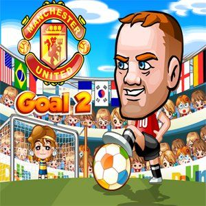 United Goal 2 is a great sports game. Pick one of 3 Manchester United players:Pogba, Ibrahimovic or Rooney and then use the arrows to move the target cursor to the desired  position. Hit the Space first time to start and second time to stop the power. Different power will result in movement of the ball position. You have a 9 ball to score the goal. Every new level you need to score one more goal. You can change players in the game. Every player have a specific power. Use that power when you…