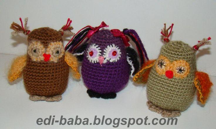 Amigurumi - crocheted figures edi-baba.blogspot.hu