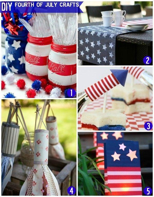 Diy fourth of july craft ideas fourthofjuly 4thofjuly for Decoration 4 july