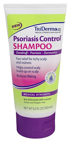 Psoriasis Control® Shampoo provides fast relief for your itchy scalp from dandruff, psoriasis or dermatitis. It helps control flaking and scaly build-up on your scalp. Safe for color treated hair. Contains NO sulfates, NO coal tar and NO parabens.