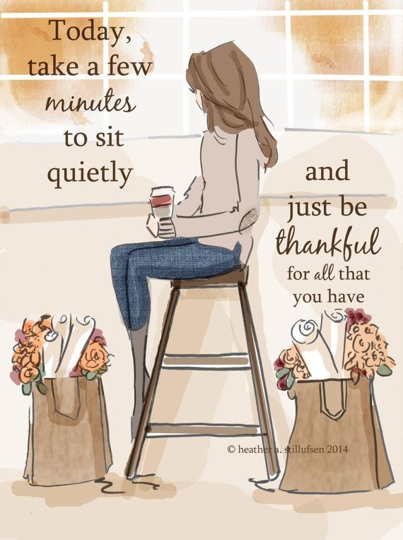 Wall Art for Women – Just Be Thankful – Wall Art Print – Digital Art Print – Wall Art – Print