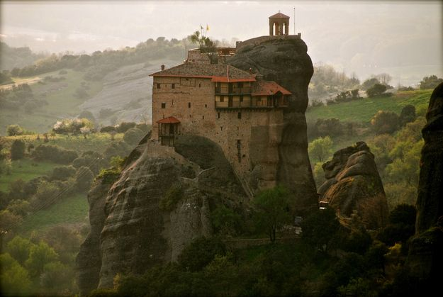 The mind-boggling monasteries at Meteora. | Community Post: 49 Reasons To Love Greece