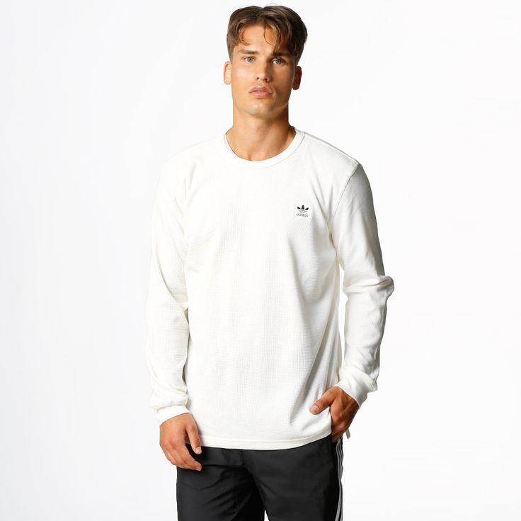 adidas skateboarding Genser - Thermal Off White