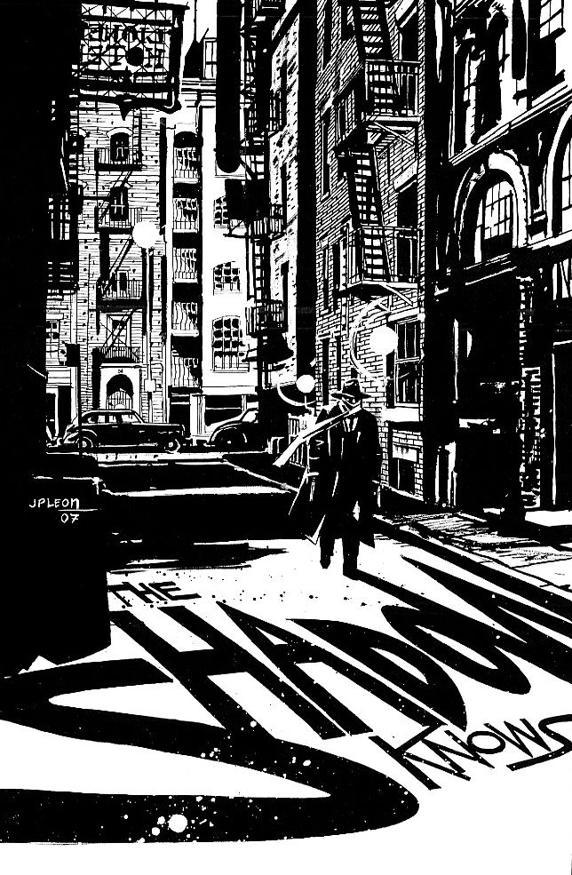 The Shadow by John Paul Leon
