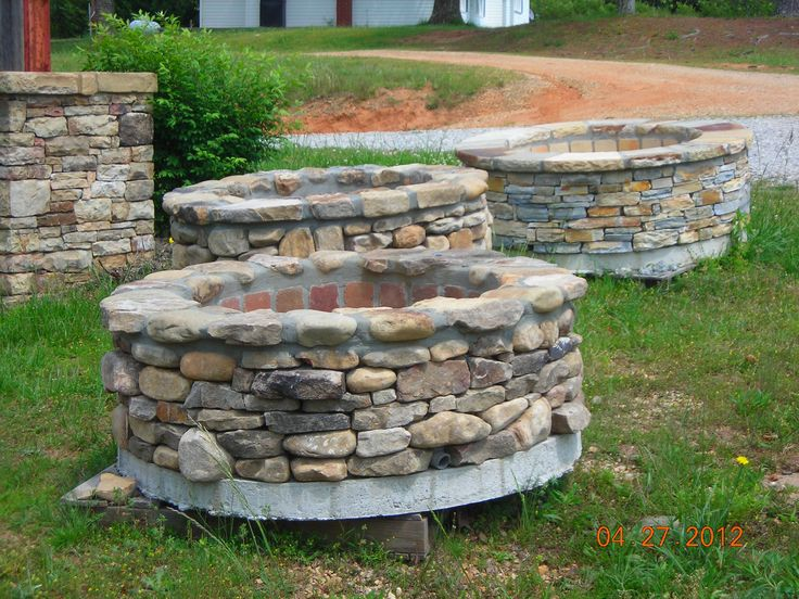 Gallery For Portable Stone Fire Pit