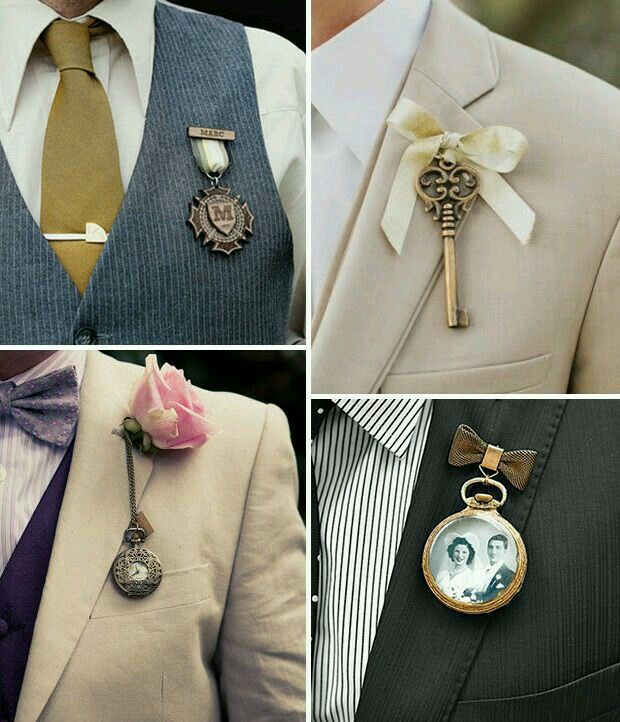 Steampunk wedding suits