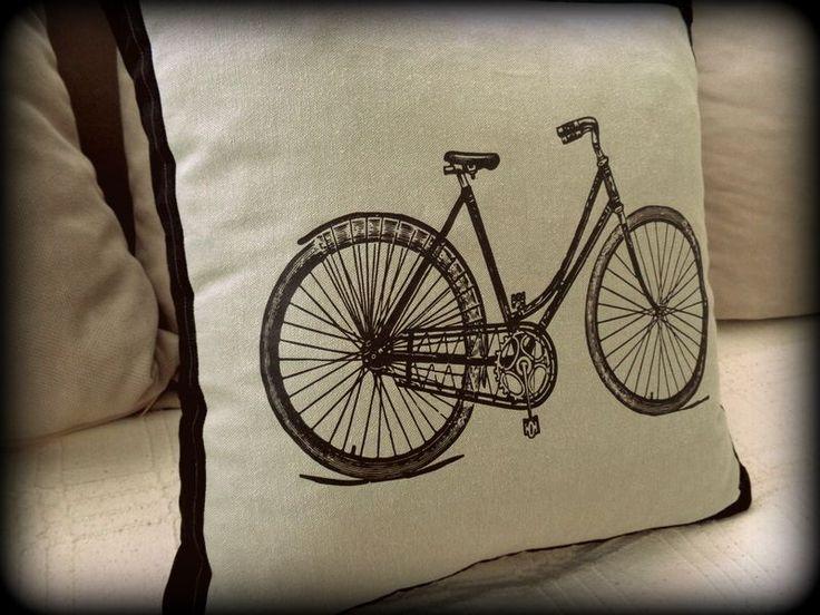 Bisiklet kırlent,Dijital Baskılı Kırlent, Zet.com'da 45 TL