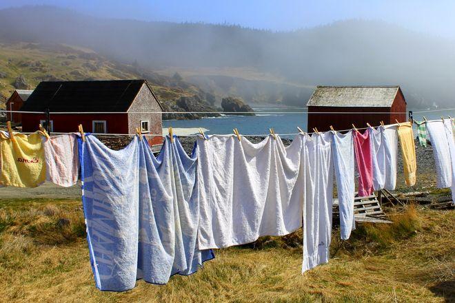 Emma's clothesline // by Bernice Goudie, St. John's, NL