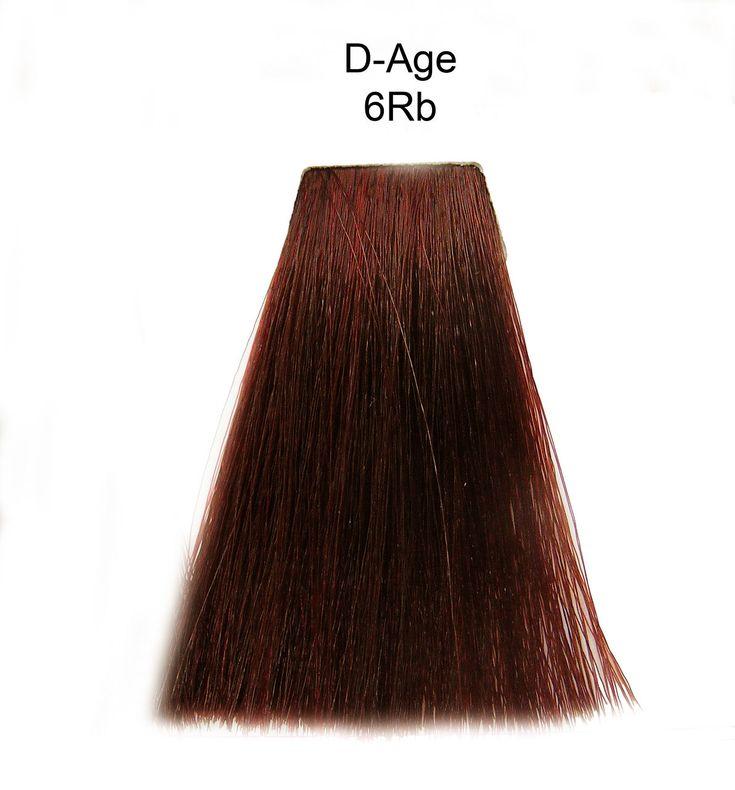 Vopsea Matrix SoColor D.AGE - 6Rb - Blond inchis Roscat, pentru par alb -  90ml