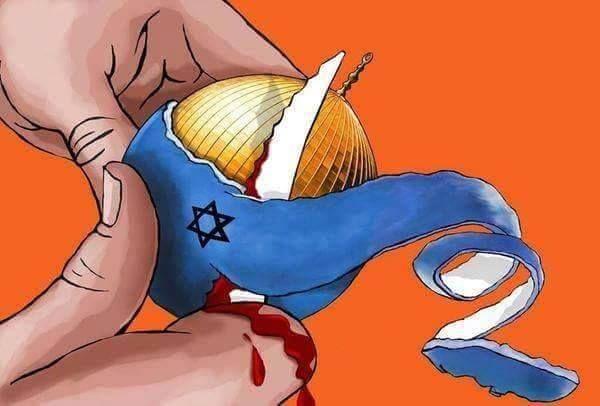 #رصد | كاريكاتير #انتفاضة_السكاكين. #فلسطين: