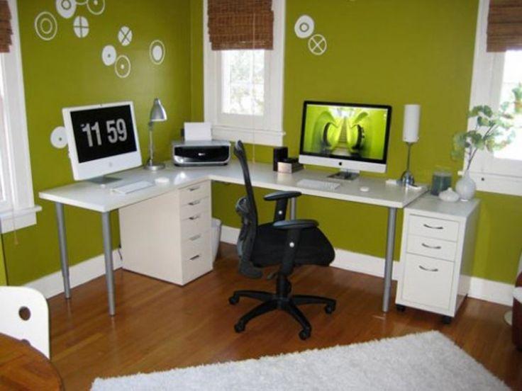 Home Office Desk Decoration Ideas