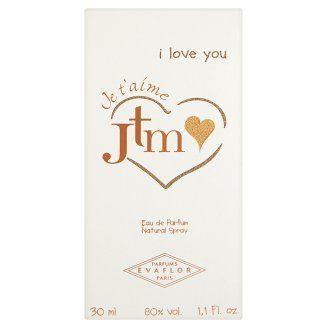 Evaflor Jtm I love you dezodorant v spreji 30 ml - Tesco Potraviny