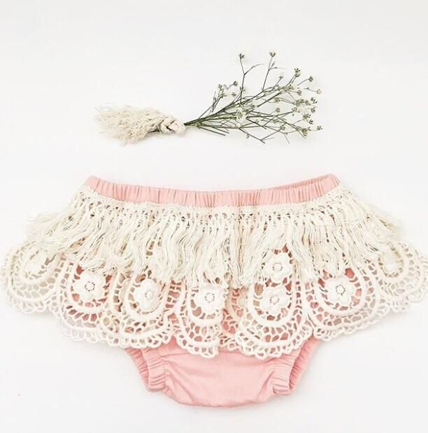 ONEs Baby Girls Bloomer Toddlers Lace Ruffle Frilly Nappy Cover Short Pant Tulle Pettiskirt
