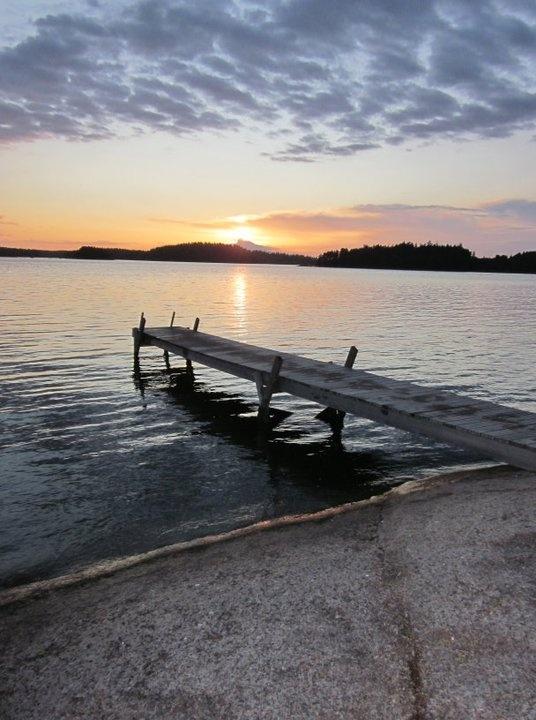 Finland; taken at 9PM; Midsummer's Night