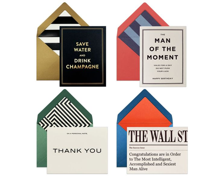 ASSORTED CARDS FOR HIM | Finally cards that's stylish AND appropriate for men :) #menstyle #cardsforhim #forhim #greetingcards