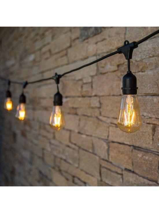 25+ beste idee u00ebn over Balkon verlichting op Pinterest   Zonneverlichting, Buitenterras decoreren